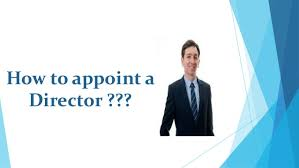 appoint a new director