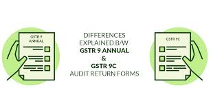 GSTR 9 and 9C